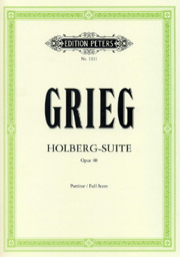 Holberg Suite Opus 40 Full Score Ep 1931 Grieg, Edvard Piano