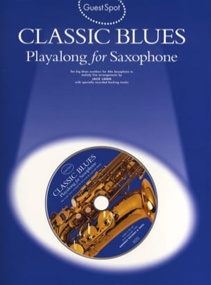Classic Blues Playalong For Saxophone Alto Am941765
