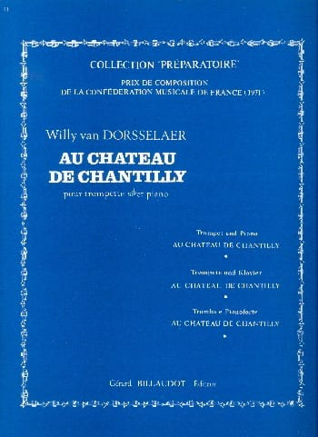 Au Château De Chantilly Dorsselaer Willy Van Trompette Billaudot Mrb1446