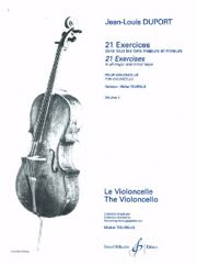 21 Exercices Pour Violoncelle - Volume 1 Gb4566 Duport Violoncelle Billaudot