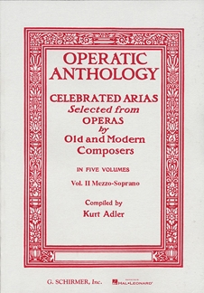 Operatic Anthology - Volume 2;  HL50325840 Mezzo-Soprano Voice + piano Schirmer