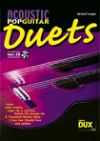 Acoustic Pop Guitar Duets  Livre d872