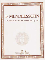 [P969] Romances sans paroles P969 Mendelssohn Bartholdy, Felix Piano Lemoine