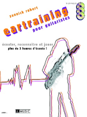 [28368] Eartraining -guitare- Avec 3 Cd 28368 Robert, Yannick Guitare Lemoine