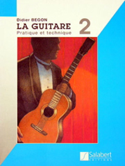 [SLB 00277400] Begon - La Guitare Pratique Vol 2 Slb 00277400 Begon Guitare Salabert