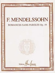 [EP969] Romances Sans Paroles Occasion Ep969 Mendelssohn Bartholdy, Felix Piano