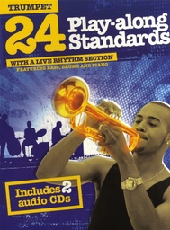 [AM999251] 24 Play Along Standards Trumpet 2cd