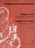 [PW3852] Adagio in E major KV 261 for Violin and Piano PW3852   Wolfgang Amadeus Mozart P