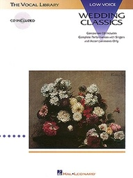 [HL00740054] Wedding Classics Low Voice;  Hl00740054