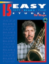 [ELM00031CD] 15 Easy Jazz, Blues & Funk Etudes - Eb Instr	 Bob Mintzer Alfred Music ELM00031CD