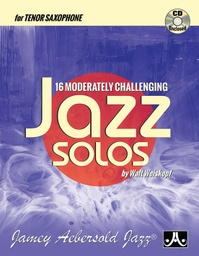 [MCJS-TS] 16 Moderately Challenging Jazz Solos MCJS-TS