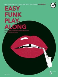 [ADV14825] Easy Funk Play-Along An Easy Way To Improvise With 10 Great Tunes 1-4 Alto Saxophones Adv14825