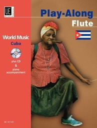 [UE34141] Cuba Play Along  + Cd Flûte Et Piano Universal Edition Ue34141