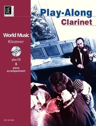 [UE34164] Klezmer Play Along +Cd Clarinette Universal Edition Ue34164