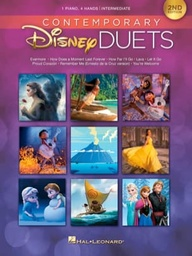 [hl00285562] Contemporary Disney Duets 2nd Edition Piano 4 Mains Hal Leonard Europe Hl00285562