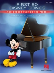 [hl00274938] First 50 Disney Songs You Should Play On The Piano Hl00274938