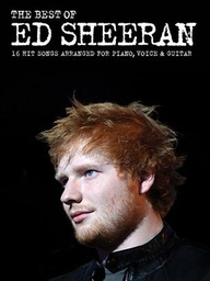 [MUSAM1009910] The Best Of Ed Sheeran 16 Hit Songs Piano, Vocal, Guitar Musam1009910