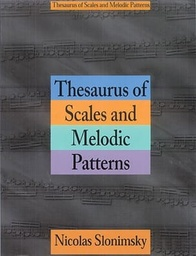 Thesaurus Of Scales And Melodic Patterns Hl14033441