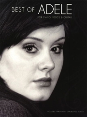 [MUSAM1004806] Best Of Adele -  Livre De Chant -  Piano -  Chant -  Guitare Musam1004806