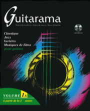 [HIT32017 cd] Guitarama - Volume 1A avec CD - Solfege HIT32017 cd